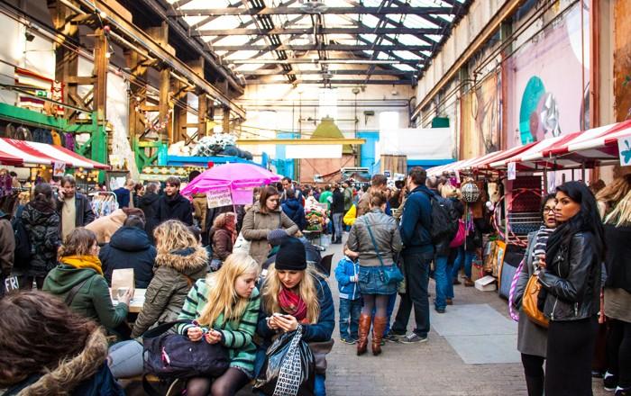 Moderne Hippies Markt nov impressie