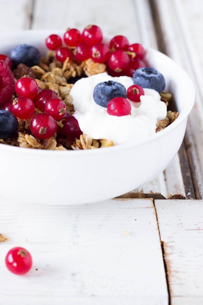 Vegan en glutenvrije muesli granola1