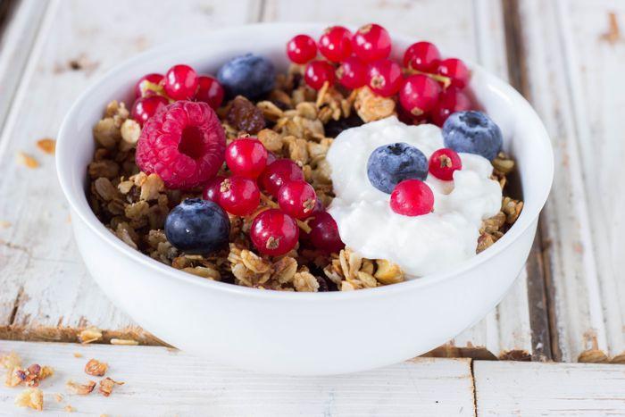Vegan en glutenvrije muesli granola2