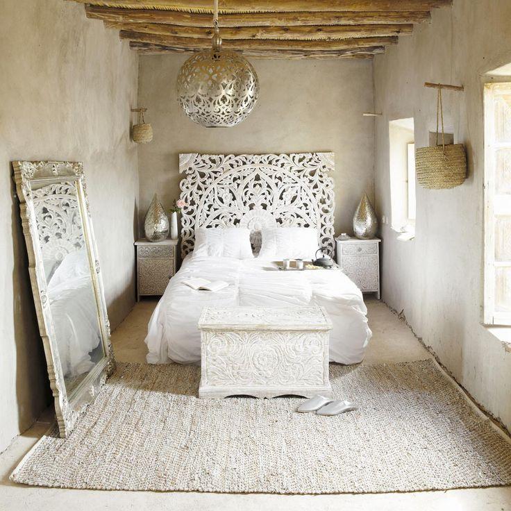 10 x inspiratie witte boho slaapkamer moderne hippies for Interieur inspiratie slaapkamer
