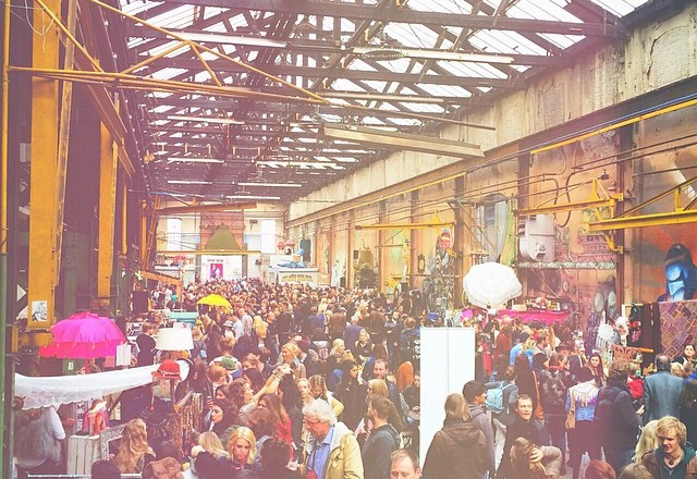 Moderne Hippies Markt Amsterdam Roest 26 oktober 14