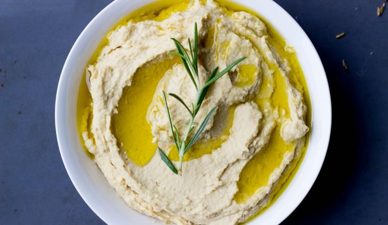 Hummus met rozemarijn 2
