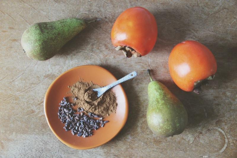 Romige winterse smoothie 1