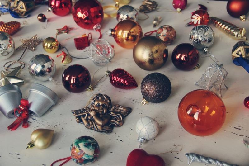 Vintage kerstballen 1