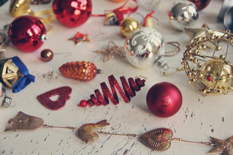 Vintage kerstballen 12