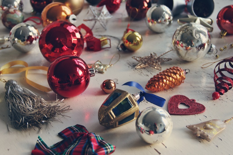 Vintage kerstballen 13