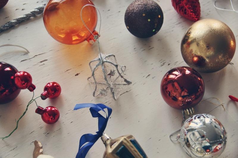 Vintage kerstballen 3