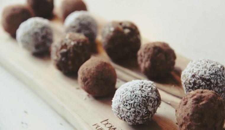 Dadel Noten Kokos Chocolade Ballen 2