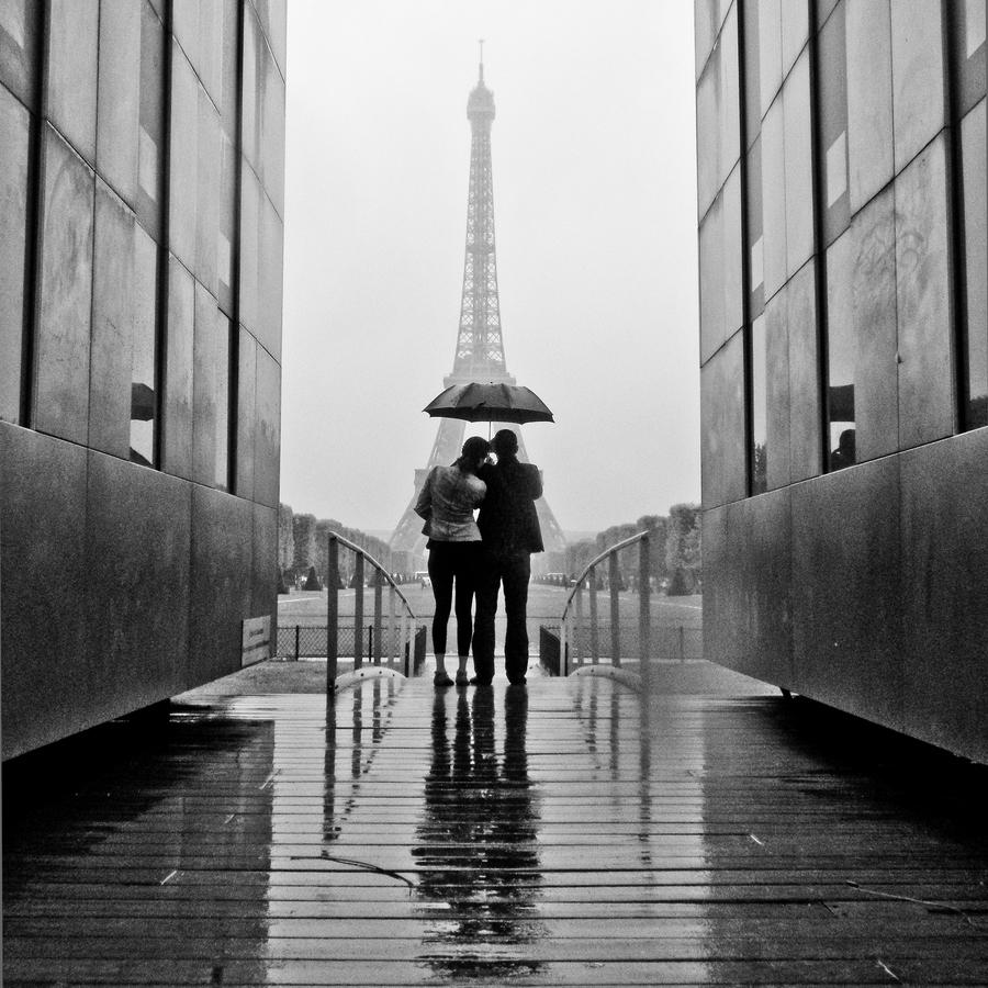 Parijs romantisch