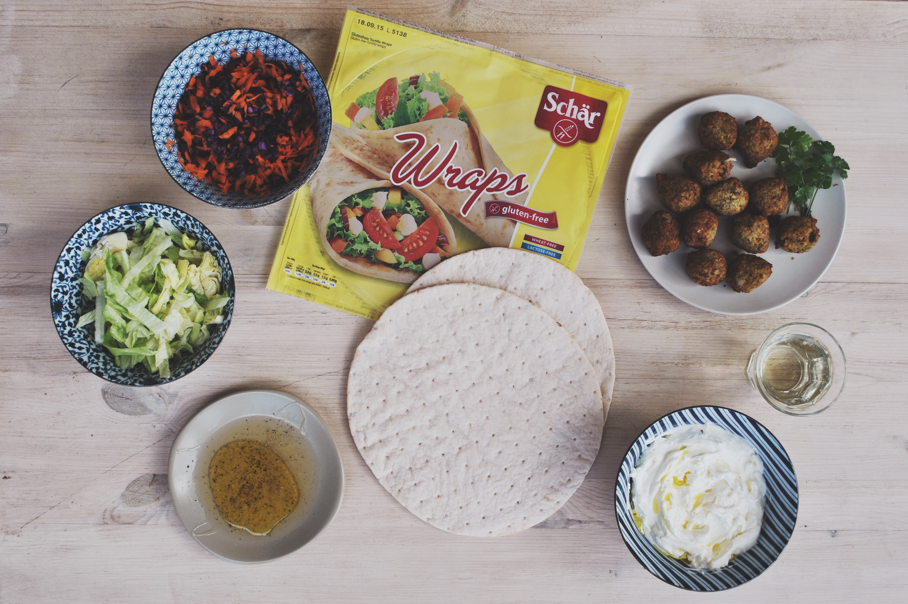 Glutenvrije wraps falafel Schar-1