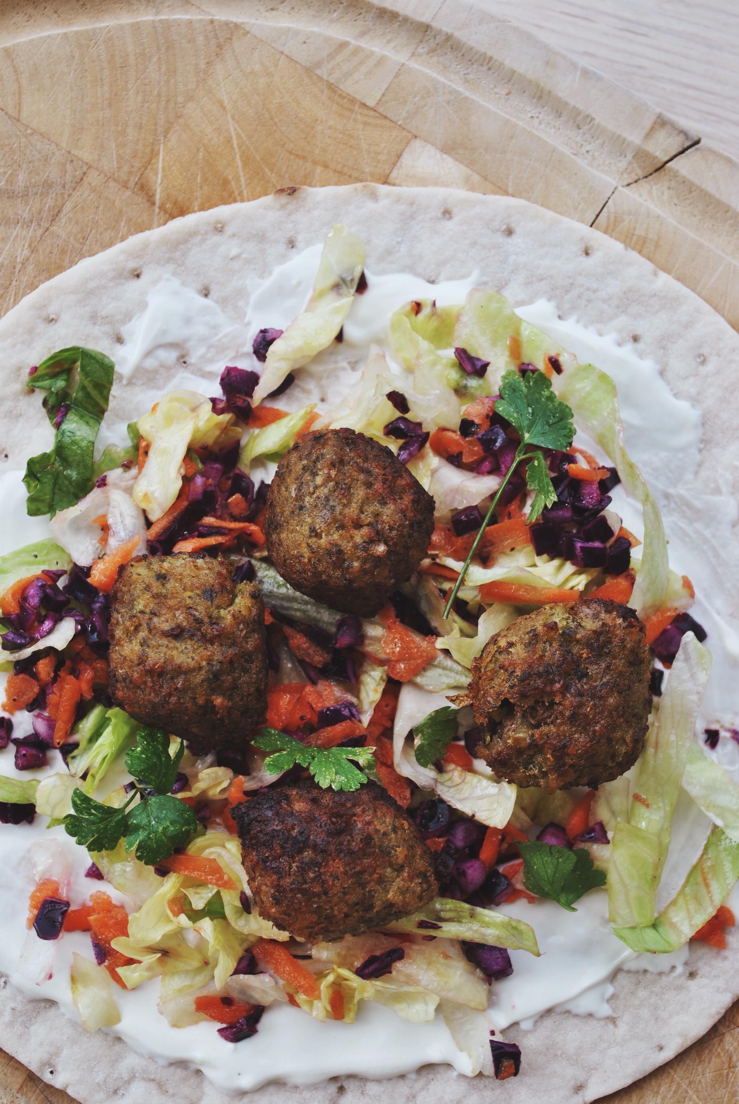 Glutenvrije wraps falafel Schar-4