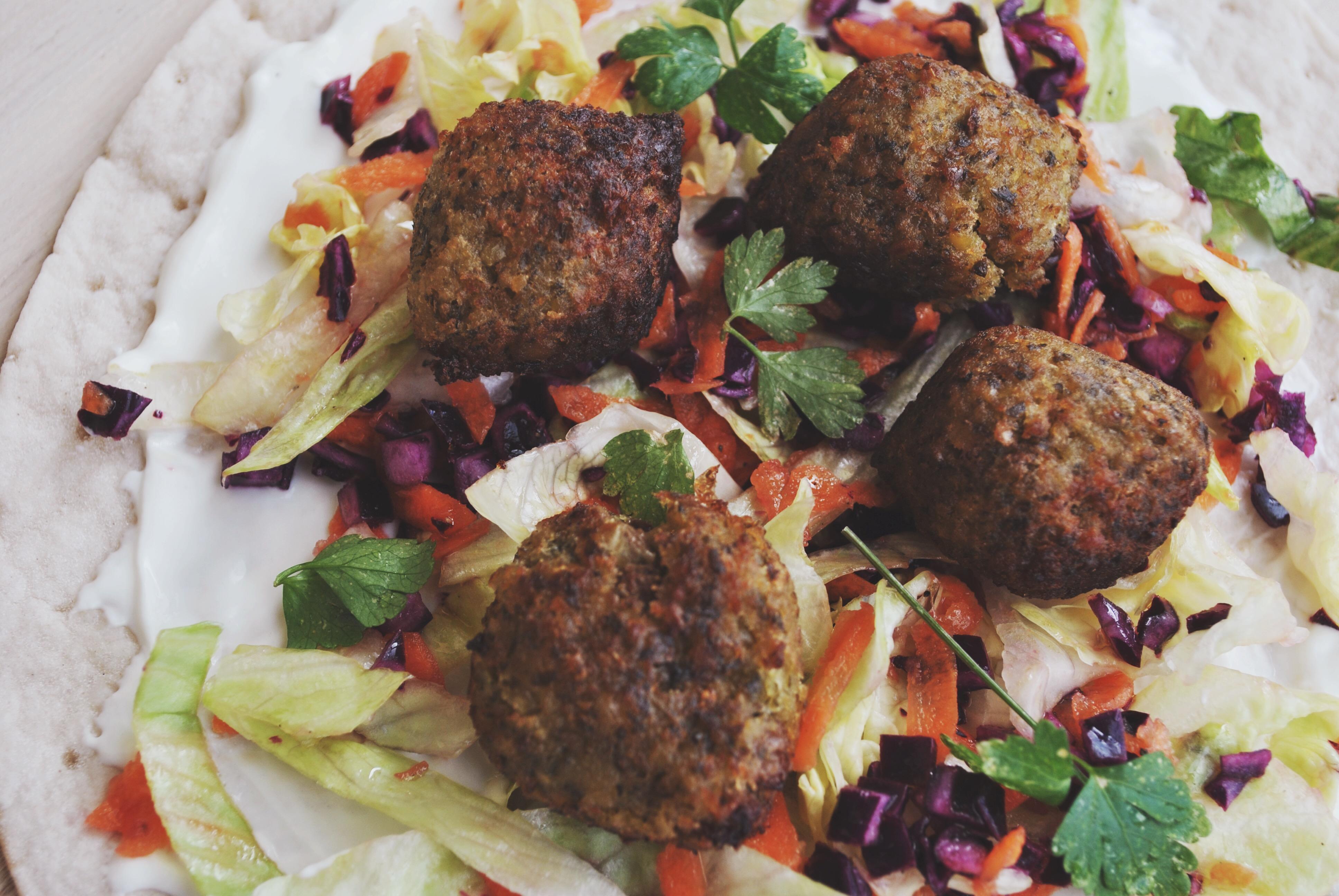 Glutenvrije wraps falafel Schar-5