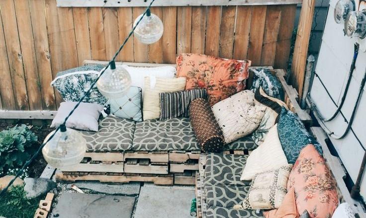 Inspiratie bohemian balkon moderne hippies