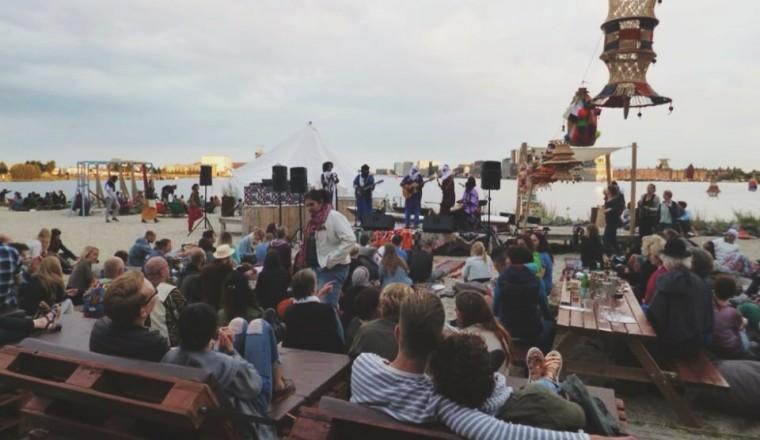 Cultural Caravan for Peace bij Pllek 7