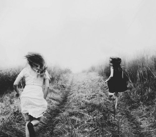 Twee jonge meiden