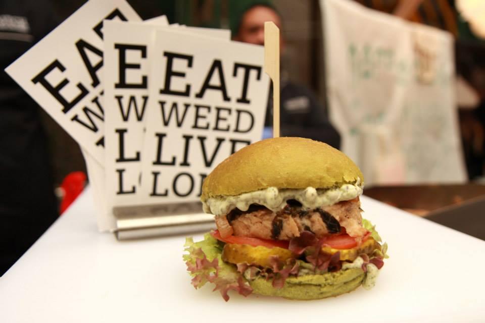 The Dutch Weed Burger Moderne Hippies Kerstmarkt