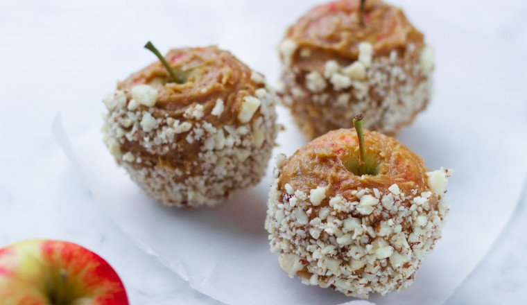 Vegan Candied Apples 2