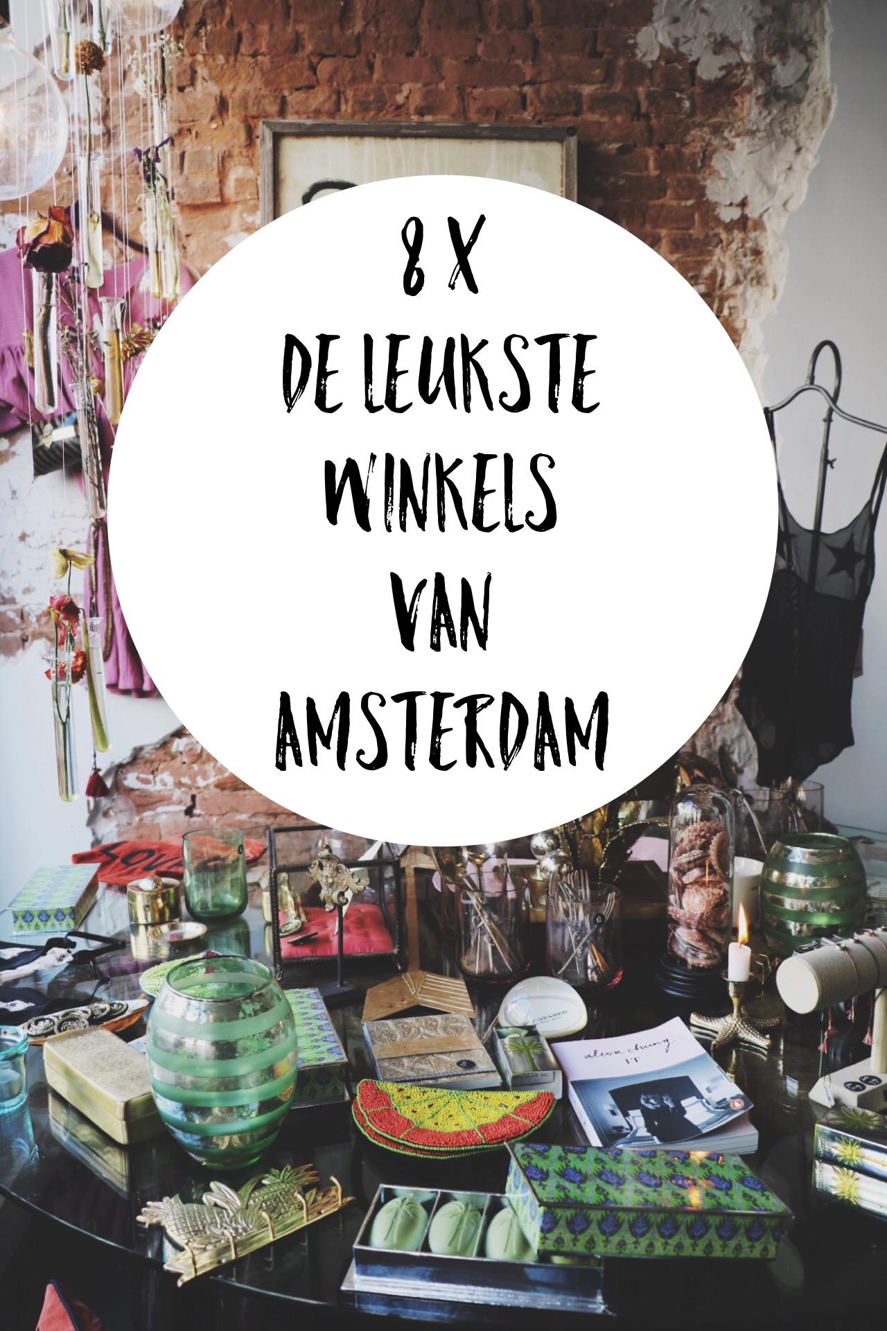 De leukste winkels van Amsterdam cover - 1