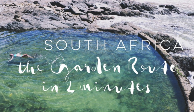 South Africa- the Garden Route in 2 minutes DEF - 1