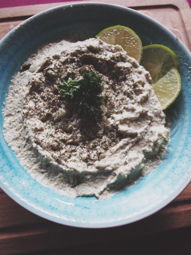 Vegan tzatziki recept 2