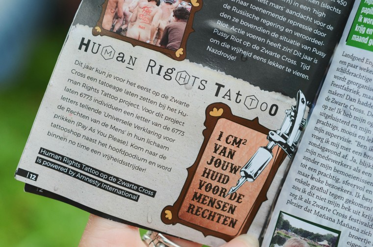 Human Rights Tattoo x Moderne Hippies 005