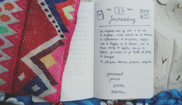 Een ode aan journaling - 1