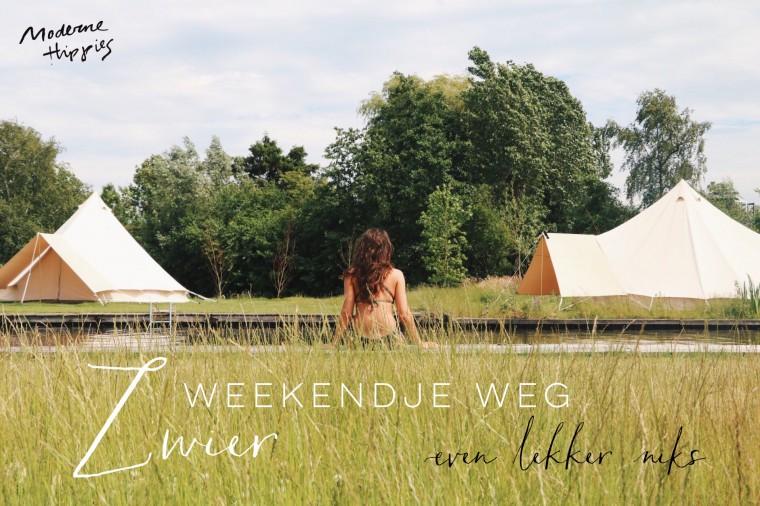 Moderne Hippies x Weekendje Weg Zwier