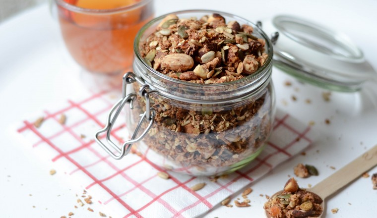 moderne hippies homemade granola recept