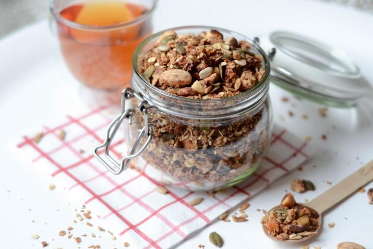 moderne hippies homemade granola recept