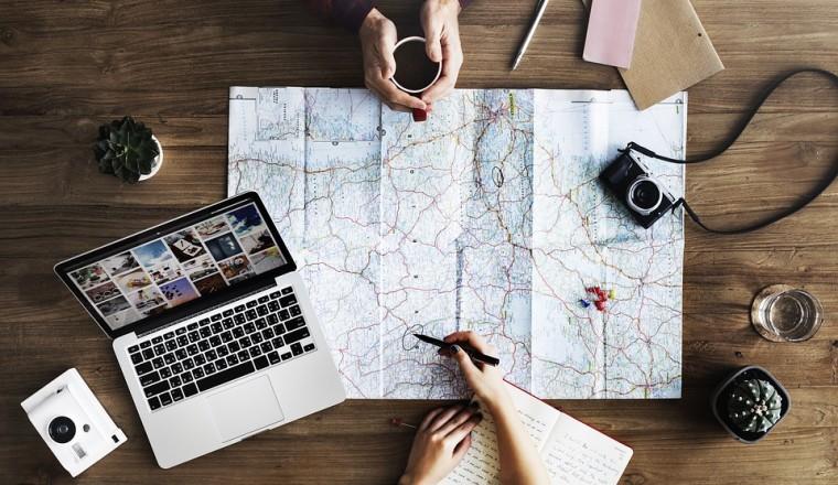 plan een reis