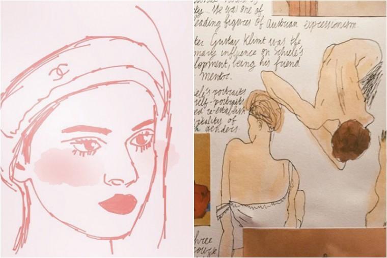 anna illustrators moderne hippies
