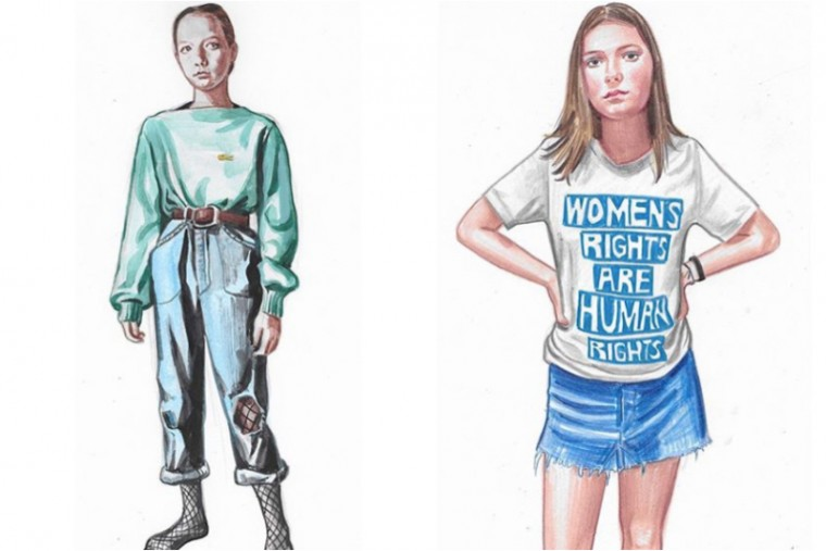 daughter moderne hippies illustrators