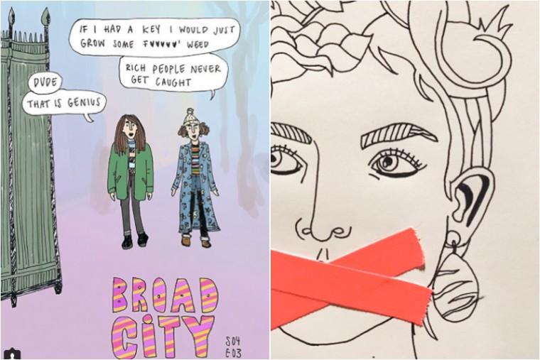 ilse savenije instagram ilustrators moderne hippies