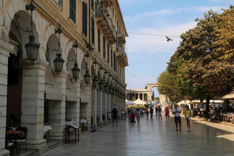 Corfu-stad