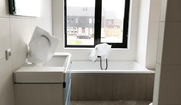 Behang Plafond Badkamer : Wishlist voor ons nieuwe huis foto s van de badkamer wmn