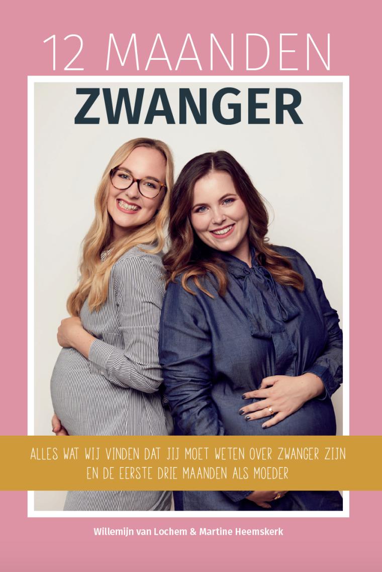 Cover 12 maanden zwanger