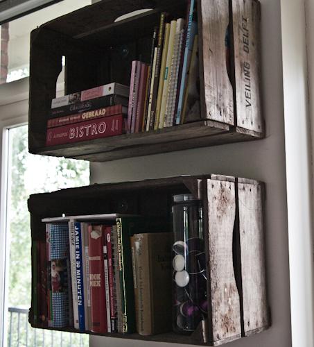 Houten Kistjes Als Boekenkast Interior Junkie