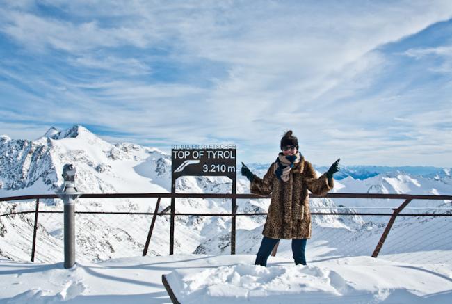 Skien in Stubai