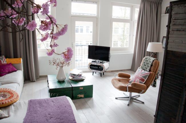 Inspiratie Gordijnen Woonkamer : Eindelijk gordijnen interior junkie