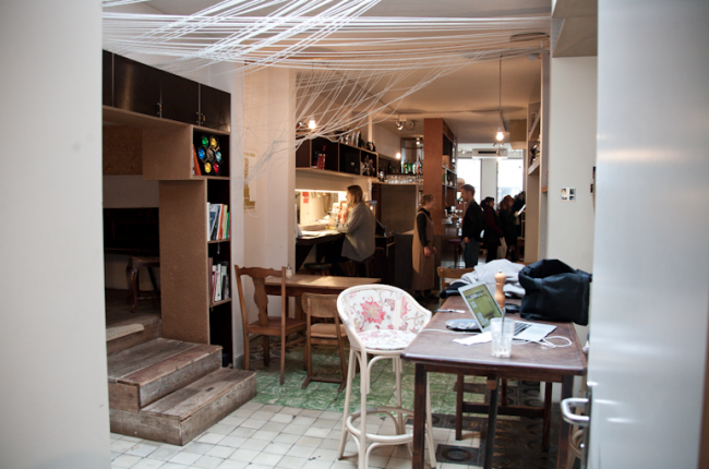 Vintage shops in de Kloosterstraat
