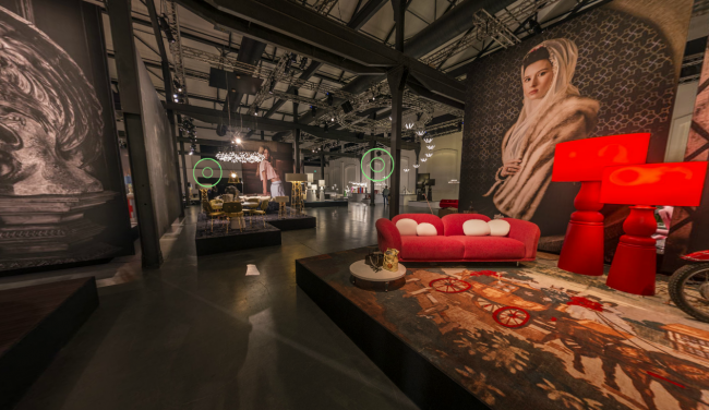 Virtuele tour Moooi @ Salone del Mobile