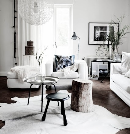 Awesome Zwart Wit Interieur Woonkamer Contemporary - Amazing Ideas ...