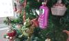 De kerstboom staat