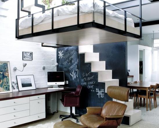 Slaapkamer In Kubus : Compacte slaapkamers interior junkie
