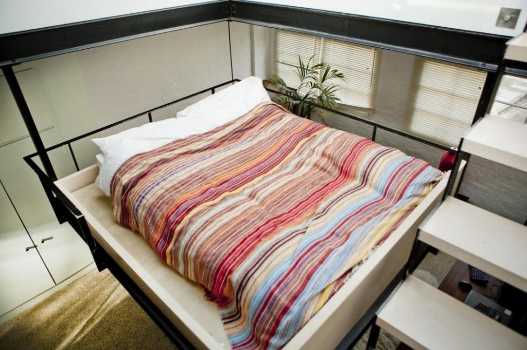 2x compacte slaapkamers
