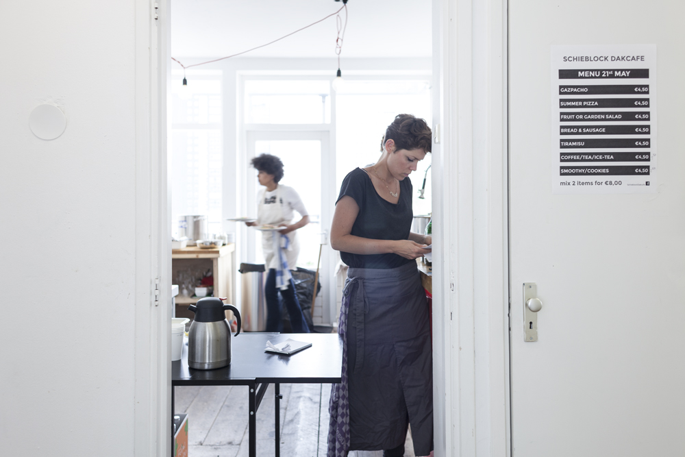 Hotspot: Schieblock Dakcafé