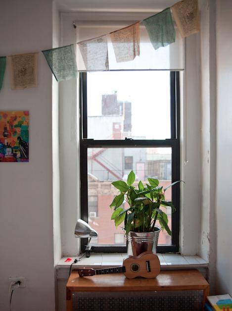 Binnen in mijn New Yorkse stulpje