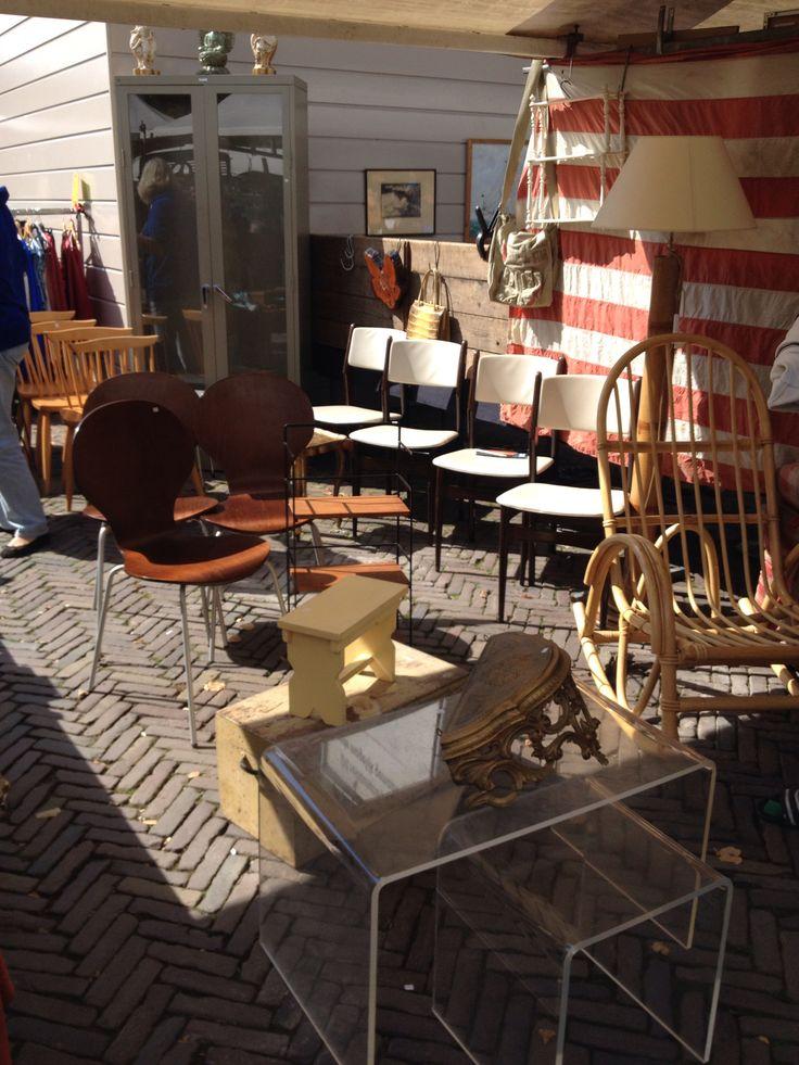 Vintage scoren op de Noordemarkt
