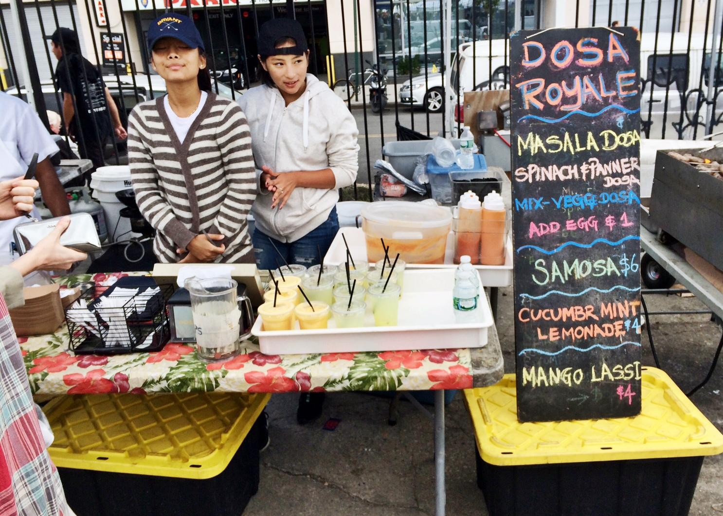 Eetmarkt Smorasburg in NYC