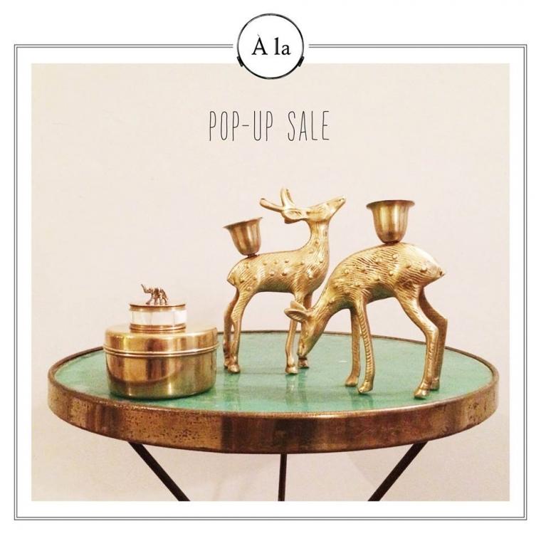 Weekendtip: pop-up sale A La